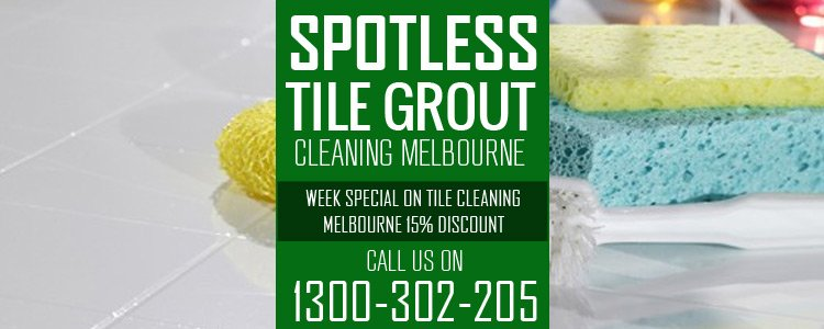 Bathroom Tile and Grout Cleaning Collins Street West