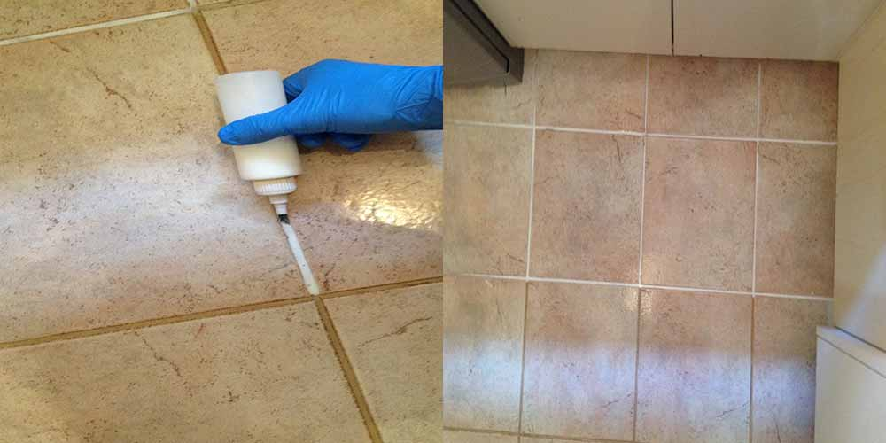 Tile and Grout Cleaning Mount Pleasant (Before - After)