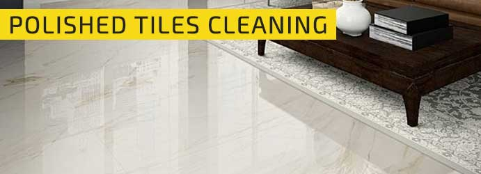 Polished Tiles Cleaning Whites Corner