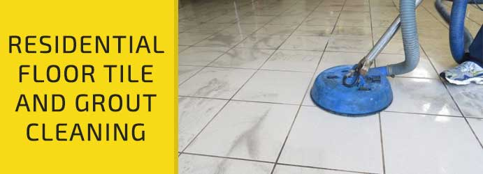 Residential Floor Tile and Grout Cleaning Cobains